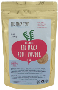 Red Maca root powder from The Maca Team